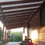 Zastrešenie terasy domu, hormax