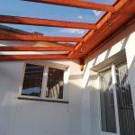 zastrešenie terasy plným polykarbonátom,hormax