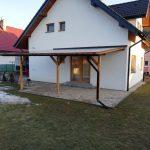Lexanový prístrešok - Prešov k domu, výroba a montáž,hormax